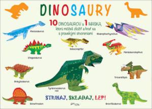 Obrázok Strihaj, skladaj, lep! Dinosaury