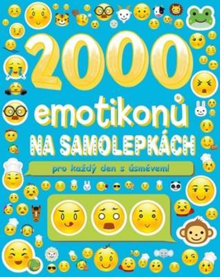 Obrázok 2000 emotikonů na samolepkách