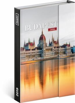 Týdenní magnetický diář Budapešť 2019, 1