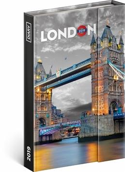 Týdenní magnetický diář Londýn 2019, 10,