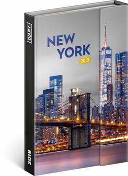 Týdenní magnetický diář New York 2019, 1