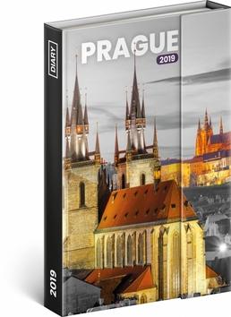 Týdenní magnetický diář Praha 2019, 10,5