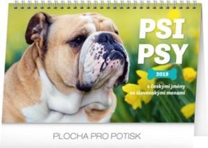 Obrázok Psi – Psy CZ/SK 2019, 23- stolní kalendář 2019