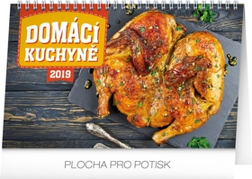 Domácí kuchyně 2019, 23,- stolní kalendář 2019