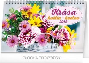 Obrázok Krása květin – Krása kve- stolní kalendář 2019