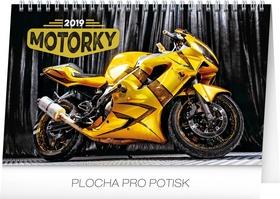 Motorky 2019, 23,1 x 14,- stolní kalendář 2019