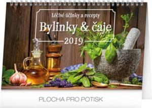 Obrázok Bylinky a čaje 2019 - stolní kalendář 2019