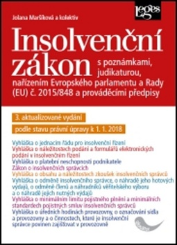 Insolvenční zákon - JUDr. Jolana Maršíková