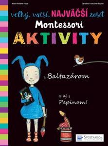Obrázok Veľký, väčší, najväčší zošit Montessori aktivity