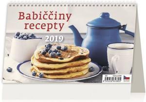 Obrázok Babiččiny recepty - stolní kalendář 2019