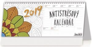 Obrázok Antistresový pracovní - stolní kalendář 2019