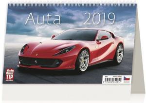 Obrázok Auta - stolní kalendář 2019