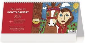Obrázok Děti malují pro Konto Bariéry - stolní kalendář 2019