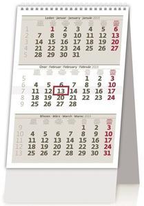 Obrázok MINI tříměsíční kalendář - stolní kalendář 2019