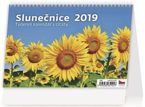 Obrázok Slunečnice - stolní kalendář 2019