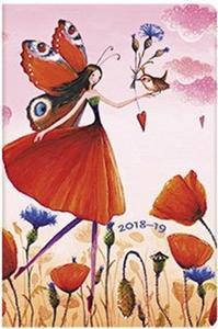 Obrázok Diář Poppy Field 2018/19