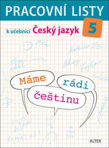 Obrázok Pracovní listy k učebnici Máme rádi češtinu 5
