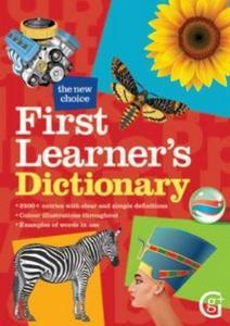 Obrázok First Learner's Dictionary