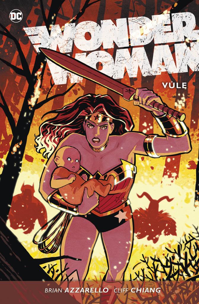 Wonder Woman Vůle - Cliff Chiang, Brian Azzarello