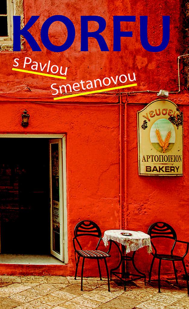 Korfu s Pavlou Smetanovou - Pavla Smetanová
