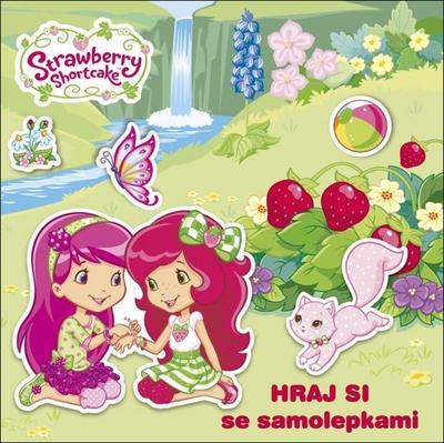 Obrázok Hraj si se samolepkami Strawberry Shortcake