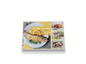 Obrázok Rychlé recepty 2019 - stolní kalendář