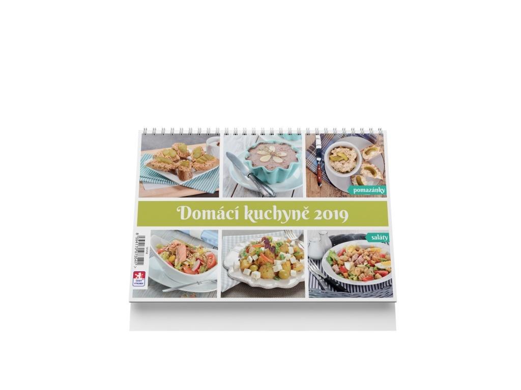 Domáci kuchyně 2019 - stolní kalendář