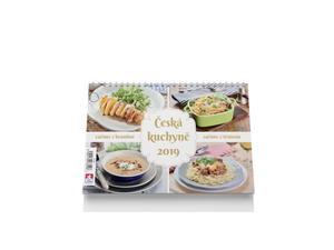 Obrázok Česká kuchyně 2019 - stolní kalendář