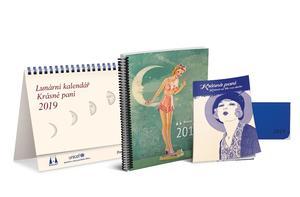 Obrázok Lunární kalendář Krásné paní 2019