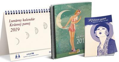 Obrázok Lunárny kalendár Krásnej panej 2019