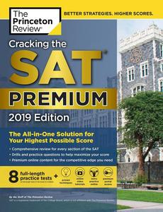 Obrázok Cracking the SAT Premium Edition with 8 Practice Tests, 2019