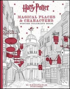 Obrázok Harry Potter Magical Places & Characters Poster Colouring Book