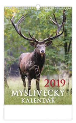 Myslivecký kalendář - nástěnný kalendář 2019