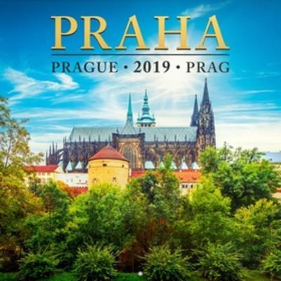 Praha mini 2019 - poznámkový kalendář