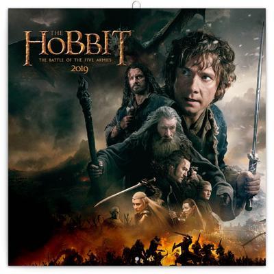 Poznámkový kalendář Hobbit 2019