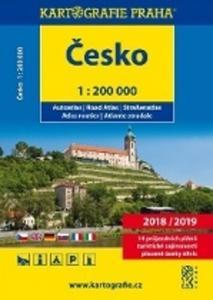 Obrázok Česko autoatlas 1:200 000