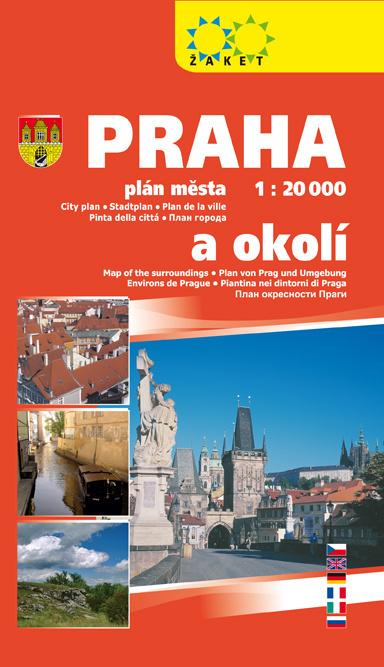 Praha a okolí 1:20T/1:190T