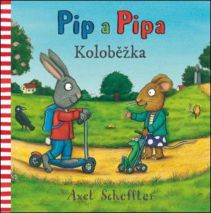 Obrázok Pip a Pipa Koloběžka