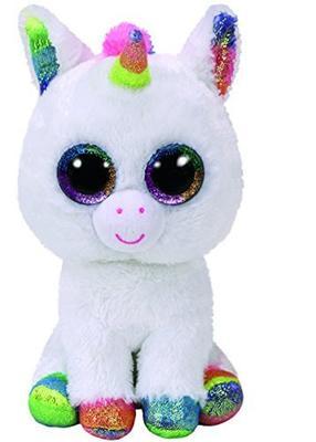 Obrázok Beanie Boos Pixy bílý jednorožec 24 cm