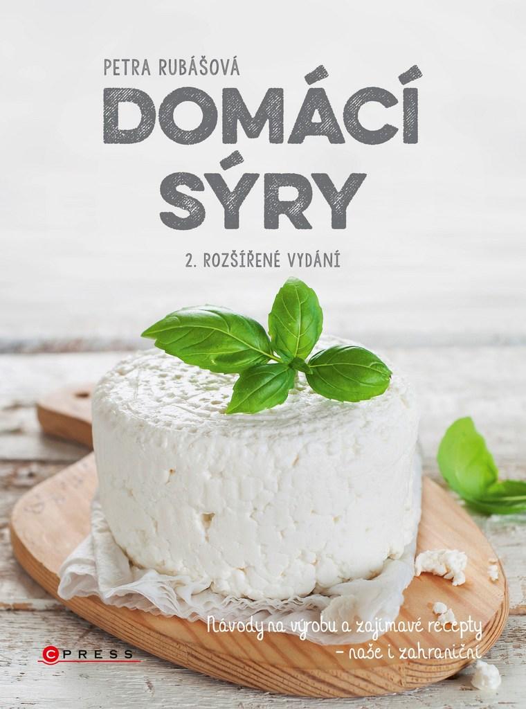 Domácí sýry (2. rozšířené vydání) - Petra Rubášová
