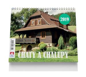 Obrázok Chaty a chalupy - stolní kalendář 2019