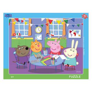 Obrázok Puzzle Peppa Pig Ve školce 40 dílků deskové