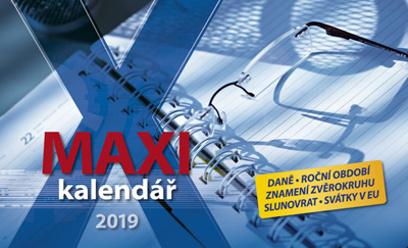 Maxi kalendář 2019 - stolní kalendář