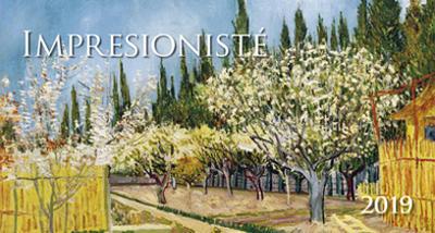 Obrázok Impresionisté 2019 - stolní kalendář