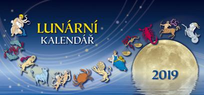 Lunární kalendář 2019 - stolní kalendář
