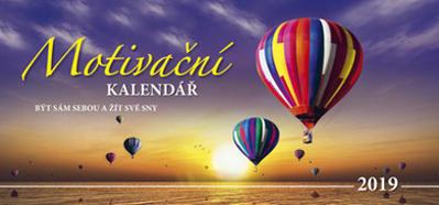 Motivační kalendář 2019 - stolní kalendář