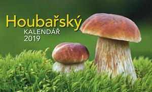 Obrázok Houbařský kalendář 2019 - stolní kalendář