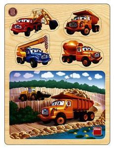 Obrázok Tatra v lomu dřevěné puzzle