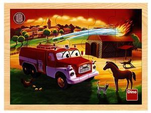 Obrázok Tatra hasiči dřevěné puzzle