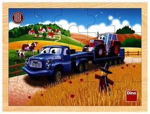Obrázok Tatra tahač dřevěné puzzle